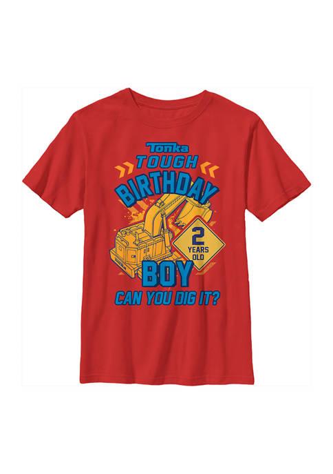 Tonka Boys 4-7 Birthday Boy 2 Graphic T-Shirt