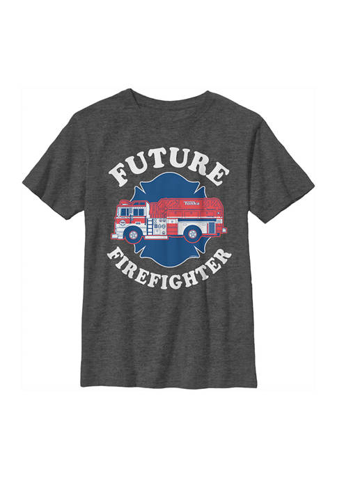 Boys 4-7  Future Firefighter Graphic T-Shirt