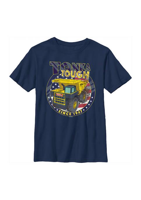 Boys 4-7  American Tough Graphic T-Shirt