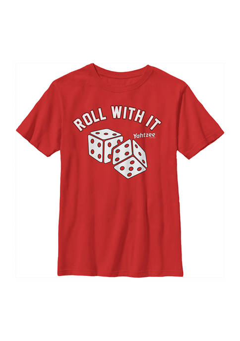Boys 8-20  Just Roll Graphic T-Shirt