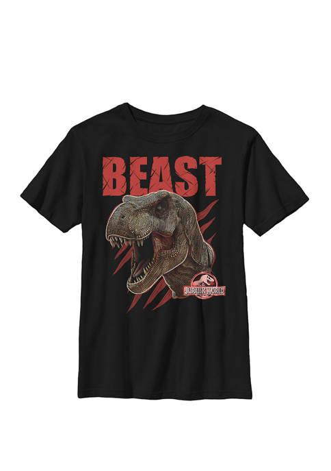 Jurassic World Beast T Rex Roaring Shredded Crew