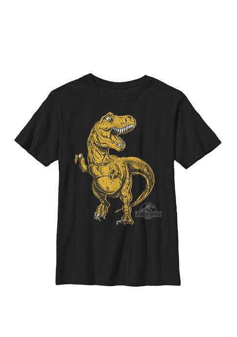 Jurassic World Drawn Orange T Rex Roar Crew