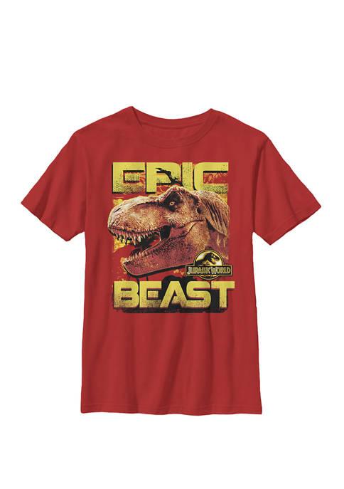 Jurassic World Two Epic Beast T-Rex Side Profile