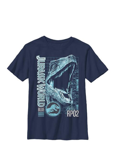 Jurassic World Two Blue Face Tech Schematic Crew