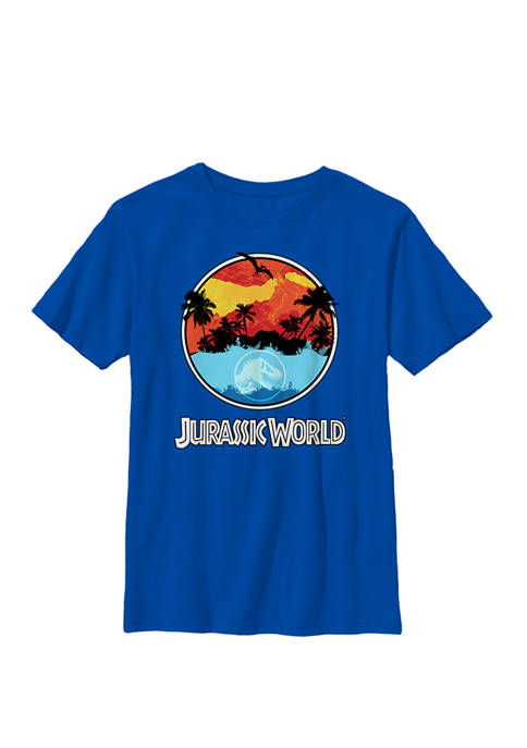 Two Dawn Of Time Land And Water Crew Graphic T-Shirt
