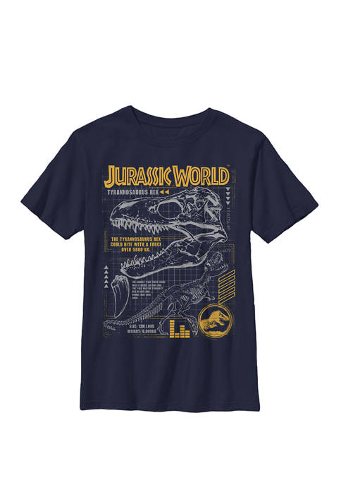 Jurassic World Two T Rex Orange Schematic Crew