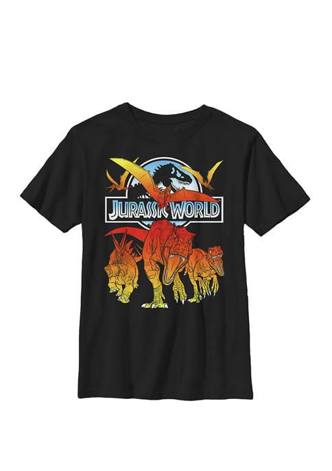 Jurassic World Two Dino Charging Comic Pop Crew