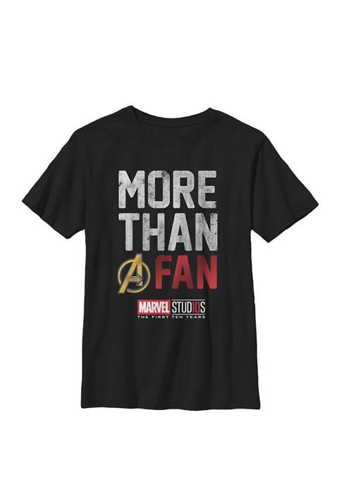 Studios More Than A Fan Crew Graphic T-Shirt