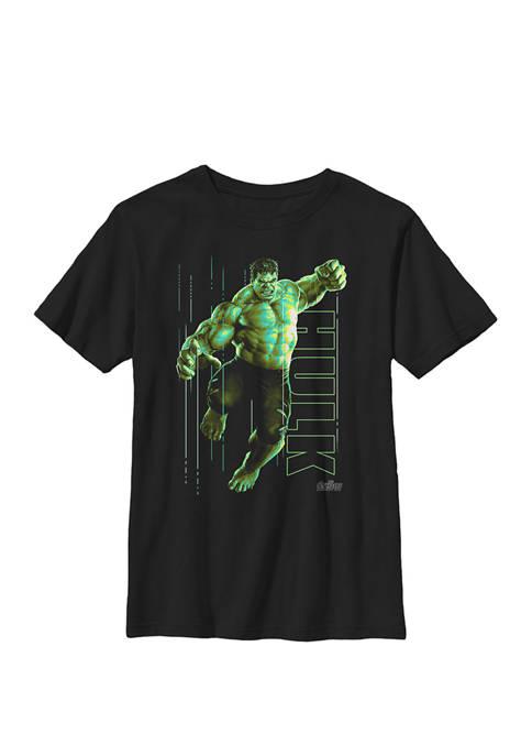 Infinity War Incredible Hulk Jump Smash Crew Graphic