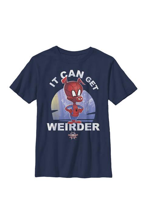 Spider-Man Spiderverse Spider-Ham Crew Graphic T-Shirt