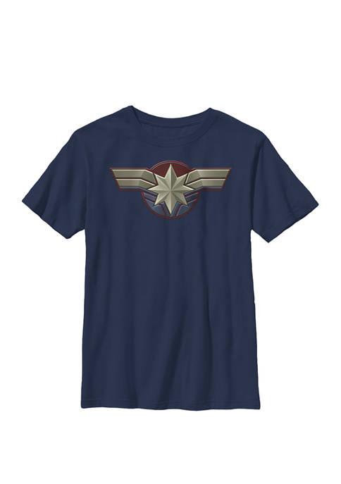 Boys 8-20 Captain Movie Chest Symbol Graphic T-Shirt