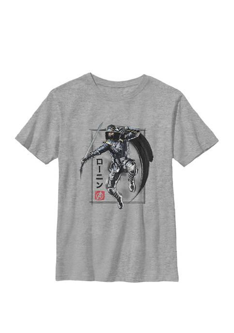 Boys 8-20  Avengers Endgame Ronin Poster Graphic T-Shirt