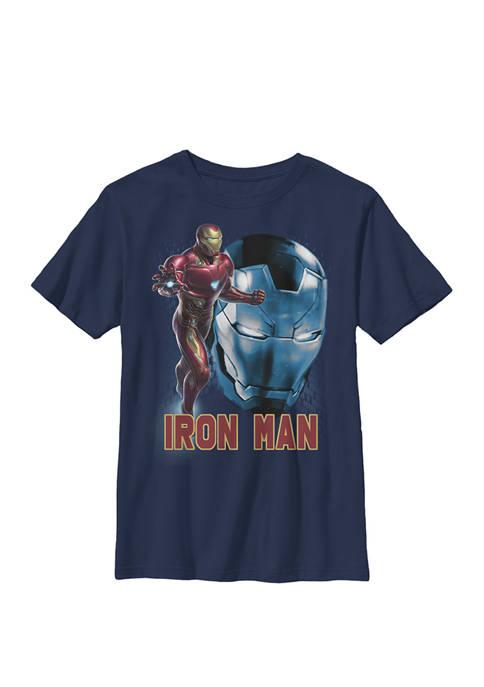 Boys 8-20 Avengers Endgame Iron Man Side Profile