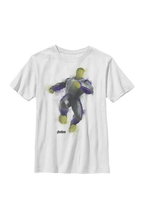 Boys 8-20 Avengers Endgame Hulk Spray Paint Pose Graphic T-Shirt