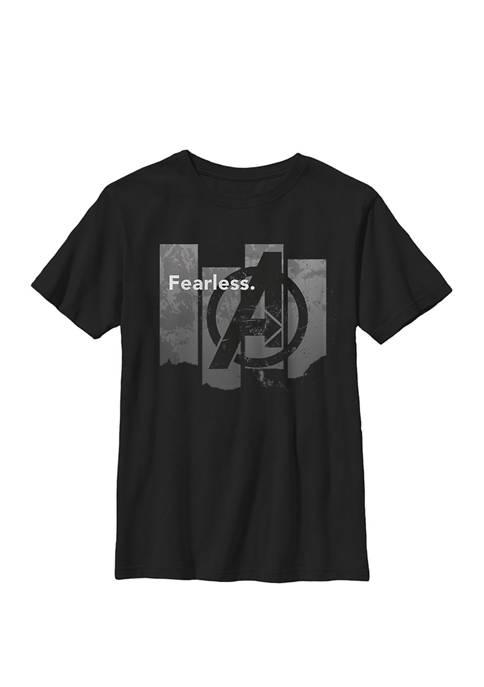 Boys 8-20 Avengers Endgame Fearless Panels Graphic T-Shirt