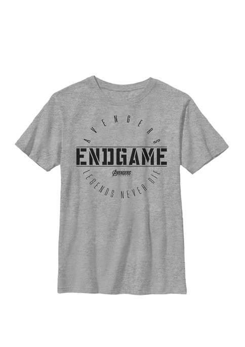 Boys 8-20 Avengers Endgame Circle Logo Graphic T-Shirt