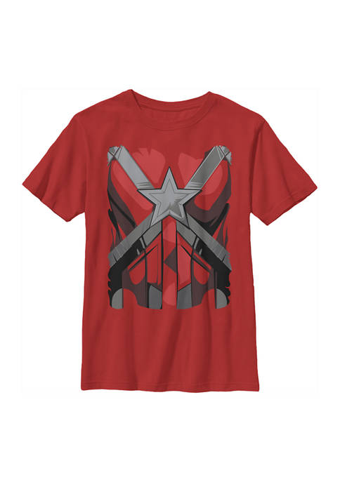 Boys 4-7 Red Guardian Costume Graphic T-Shirt