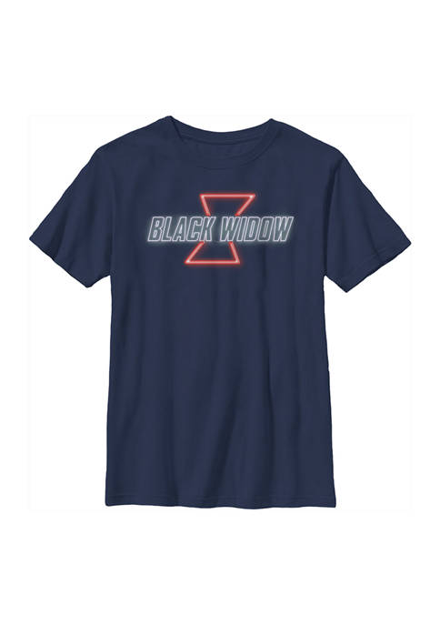 Boys 4-7 Black Widow Neon V2 Graphic T-Shirt