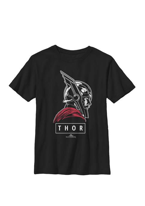 Boys 8-20 Thor Ragnarok God of Tonal Street View Graphic T-Shirt