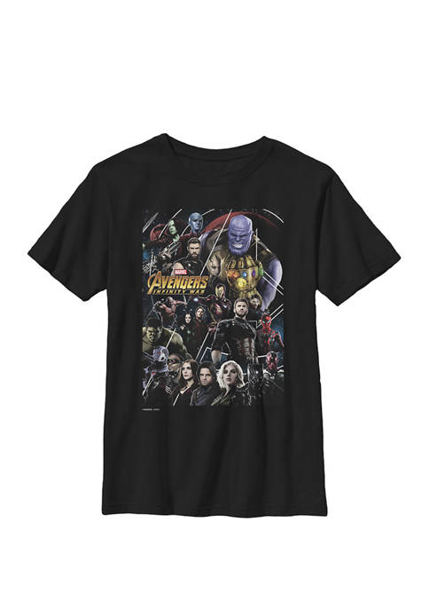 Boys 8-20 Avengers Infinity War Group Poster Graphic