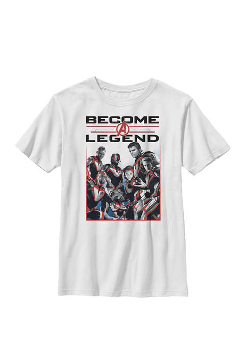 Boys 8-20 Avengers Endgame Become A Legend Graphic