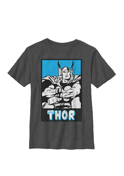Mighty Thor Ready for Battle Crew Graphic T-Shirt
