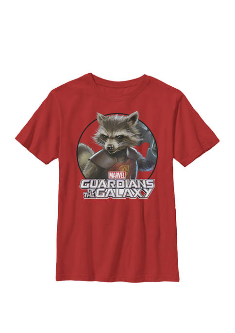 Rocket Guardians of the Galaxy Circle Crew Graphic