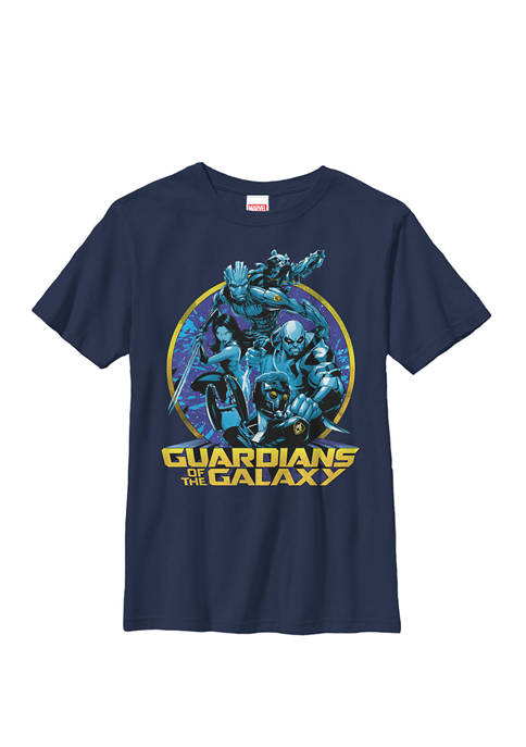 Guardians of the Galaxy Defend Crew T-Shirt