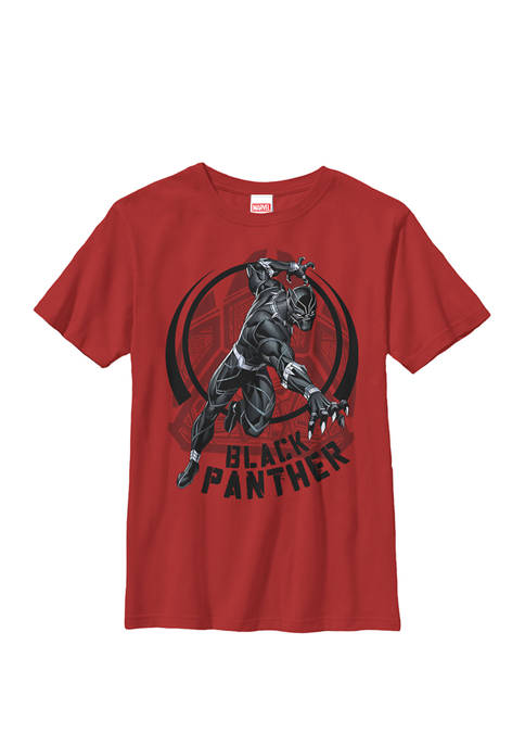 Black Panther King of Wakanda Paw Crew T-Shirt