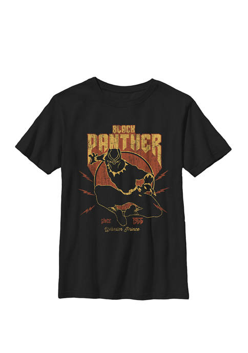 Boys 8-20 Black Panther Action Since 1966 Retro