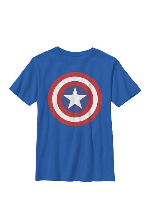 Boys 8-20 Avengers Captain America Large Classic Shield