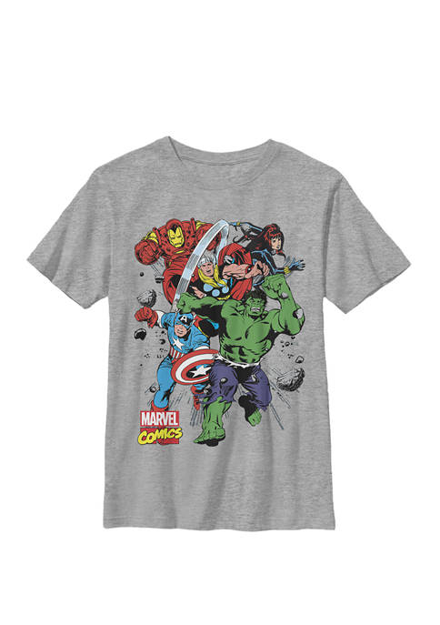 Boys 8-20 Avengers Classic Starters Graphic T-Shirt