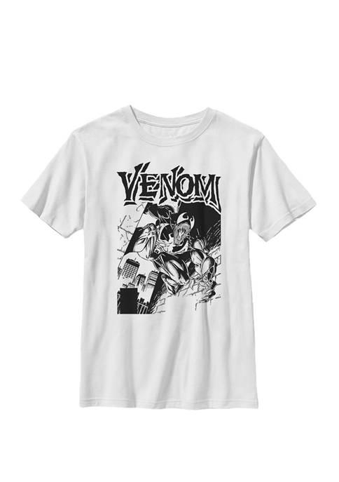 Boys 8-20 Venom Street Cover Comic Illustration Graphic