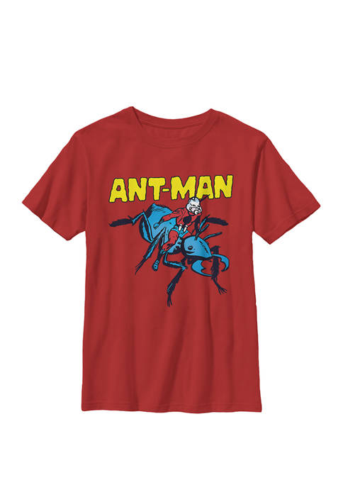 Boys 8-20 Ant-Man Classic Comic Pet Ant Graphic