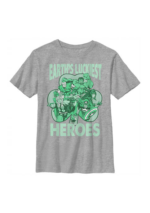 Marvel™ Boys 4-7 Luck of the Hero Graphic