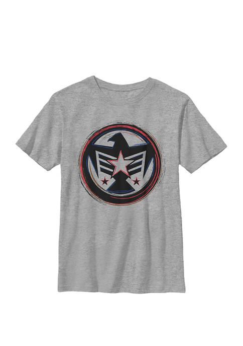 Boys 8-20 Falcon America Badge Symbol Graphic T-Shirt