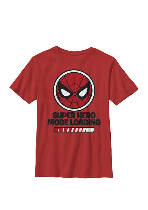 Boys 8-20 Spider Man Hero Mode Loading Graphic