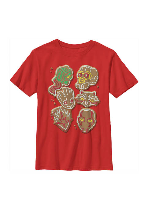 Marvel™ Boys 4-7 GUARDIAN COOKIES T-Shirt