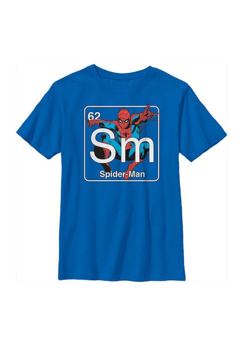 Spider-Man Boys 4-7 Periodic Spider Man Top