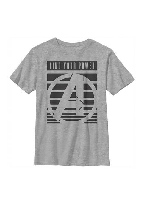 Marvel Avengers Boys 4-7 Avenger Power Top