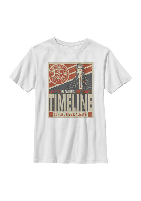 Loki Boys 4-7 Always Watching Graphic T-Shirt