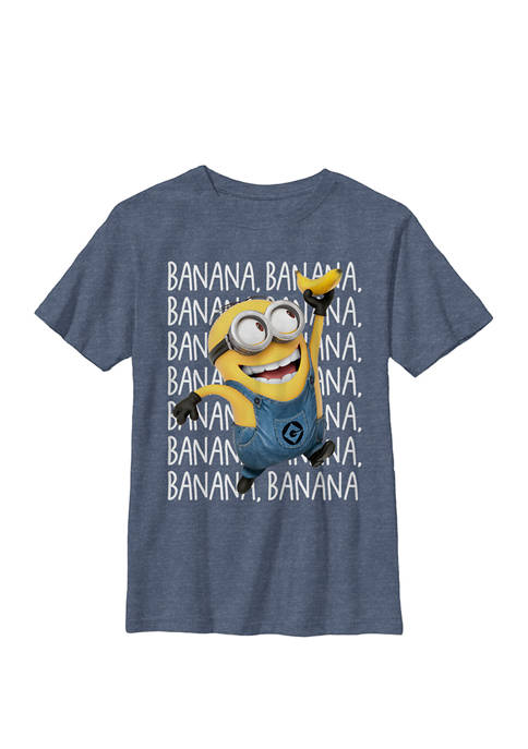 Minions Gone Bananas Crew Graphic T-Shirt