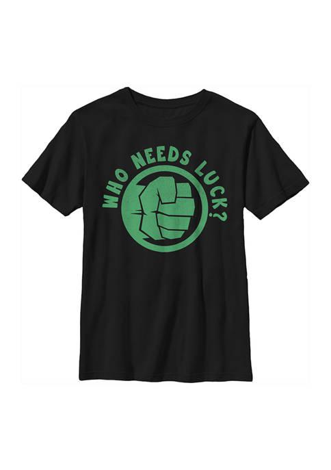 Marvel Avengers Boys 4-7 Lucky Hulk Graphic T-Shirt