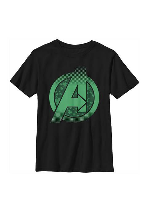 Marvel Avengers Boys 4-7 Lucky A Graphic T-Shirt