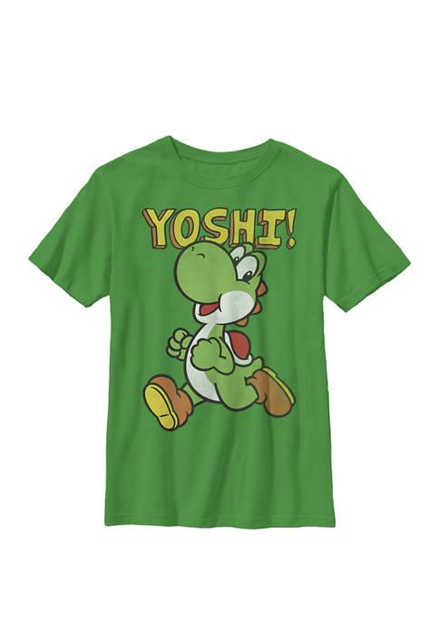 Nintendo Boys Super Mario Yoshi Intro Jump Crew