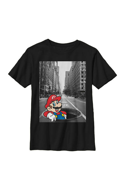 Nintendo Super Mario Street Pop Up Black And
