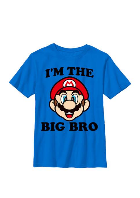 Nintendo Boys Super Mario The Big Bro Face