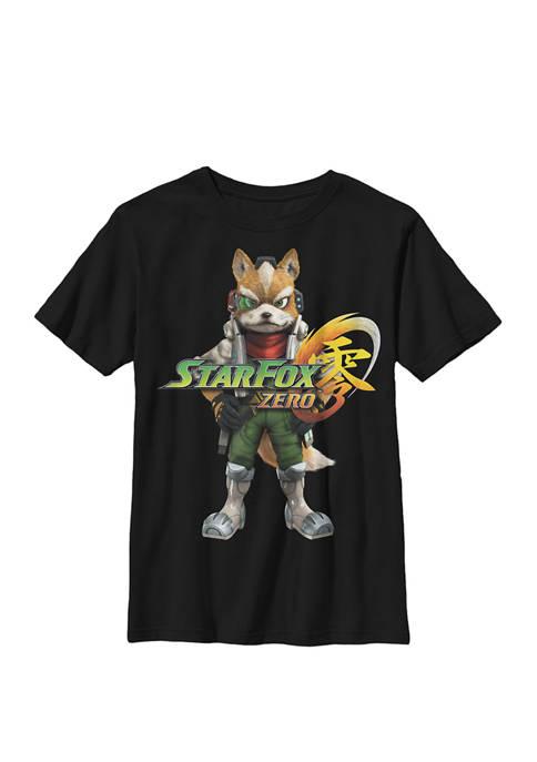 Nintendo Boys Star Fox Zero Classic Fox Stance