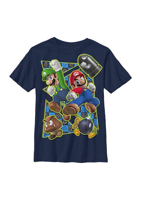 Boys 4-7 Super Kicker Graphic T-Shirt