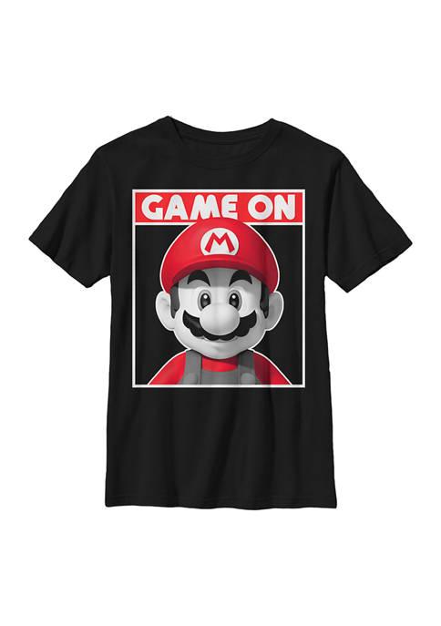 Nintendo Boys 4-7 Game On Graphic T-Shirt